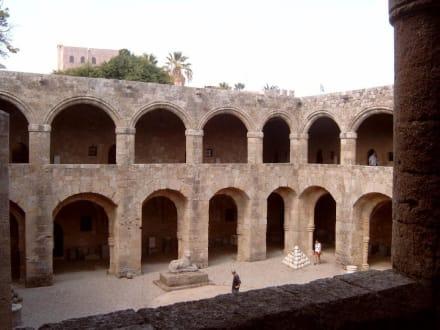 Die Altstadt von Rhodos-Stadt - Archäologisches Museum