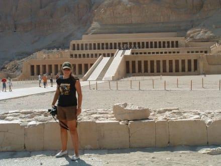 Ausflug Luxor - Tempel der Hatschepsut