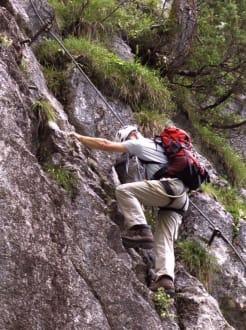 Kletterer in der Klamm - Klamm