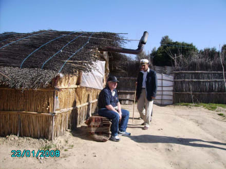 Tour mit Achmed - Achmeds Strandladen