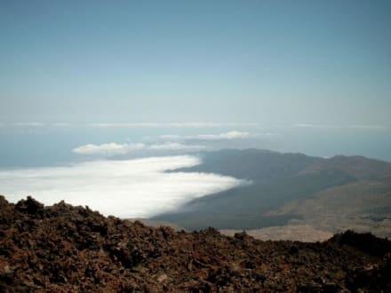 Blick vom Pico del Teide - Teide Nationalpark