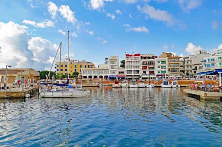 Aussicht - Hafen Cala Bona