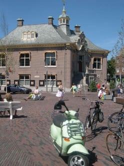 Marktplatz von Zandvoort - Altstadt Zandvoort