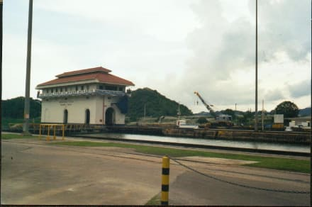 Panamakanal - die Miraflores-Schleuse - Miraflores Locks