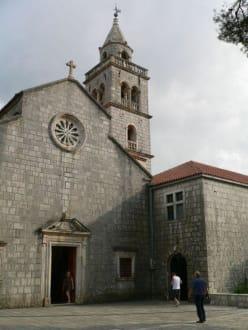 Weintour - Besichtigung der Wallfahrtskirche - Kirche Muttergottes Delorite