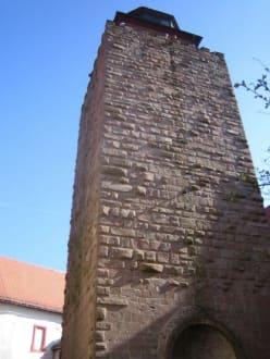 Der Turm von dem man eine schöne Aussicht hat. - Burg Breuberg