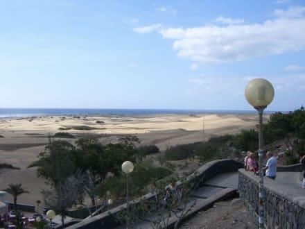 Beginn der Dünenlandschaft - Dünen von Maspalomas