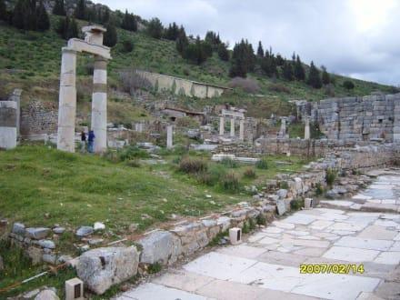 Ein Teil der Basilika! - Antikes Ephesus