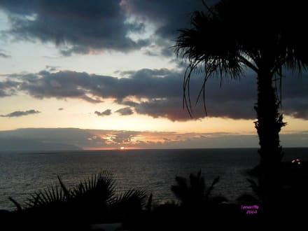 Abendstimmung in Playa de las Americas - Strand Playa de las Americas