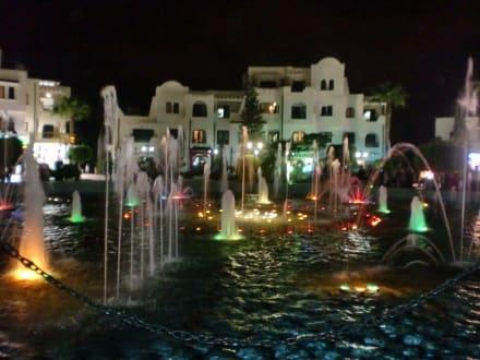 Port el Kantaoui - Wasserspiele - Brunnen