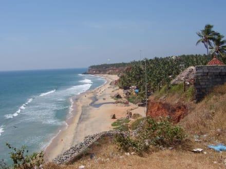Strandabschnitt in Kerala - Kerala Beach