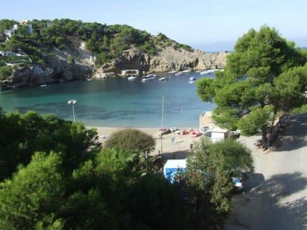 Strand von Cala Vadella - Strand Cala Vadella