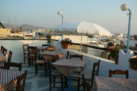Auf der Dachterrasse - Restaurant Oniro