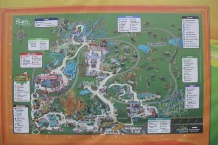 Amusement Park - Busch Gardens Amusement Park