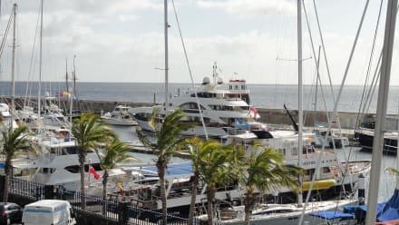 Kleiner Yachthafen - Hafen Puerto Calero