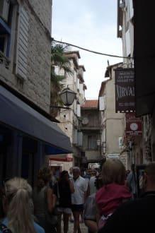 Gassen in Trogir - Altstadt Trogir