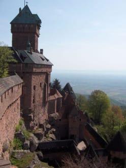 Blick aus dem Turm - Hohkönigsburg