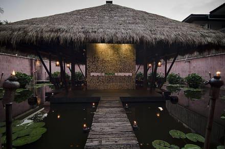 Eingang zum Spa & Wellness Bereich - Anantara Bophut Resort & Spa