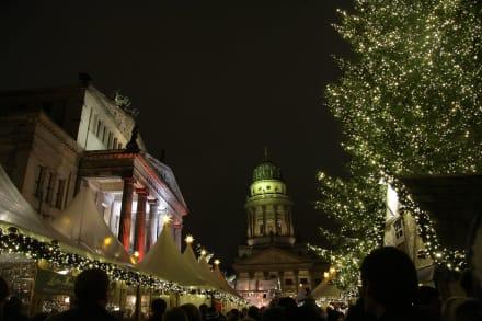 Markt/Bazar/Shop-Center - Weihnachtsmarkt am Gendarmenmarkt Berlin