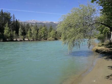 Fluss in Manavgat, hier haben wir Rafting Tour gemacht. - Flussfahrt Manavgat