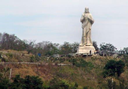 El Cristo - Christus-Statue
