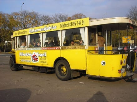 Orginal Pariser Stadtbus - Stadtrundfahrt Leipzig
