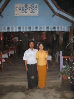Das Restaurantbetreiber Paar - Nwe Oo Hlaing