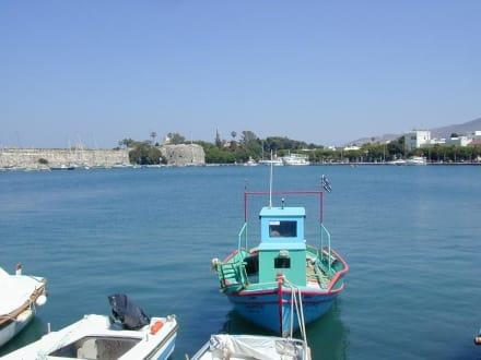 Insel Kos Hafen - Hafen Kos Stadt