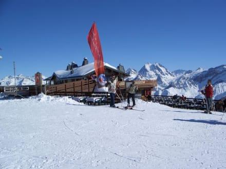 Skitour - Hütten - Le Trois Vallee - Drei Täler