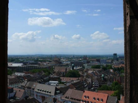 Überblick über Freiburg - Freiburger Münster
