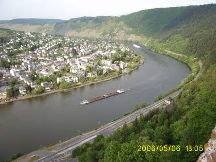 Moselschleife bei Traben-Trarbach - Grevenburg