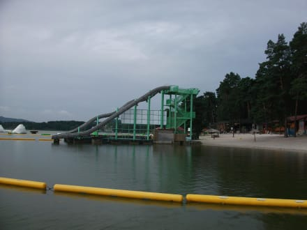 Freibad - See von Doksy / Máchasee