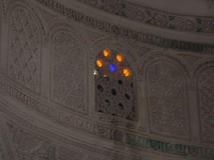 Fenster unter dem Kuppeldach - Tourbet El Bey