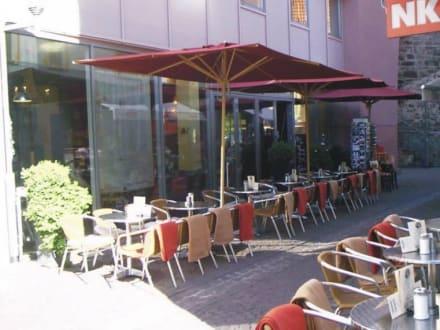 Sonne und Schatten - Cafe Bar Da Barista