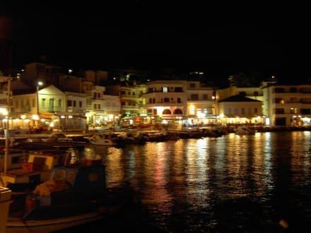 Abends am Hafen - Hafen Pigadia