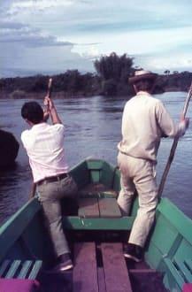 Mit dem Boot zu den Wasserfällen - Wasserfälle von Iguazu