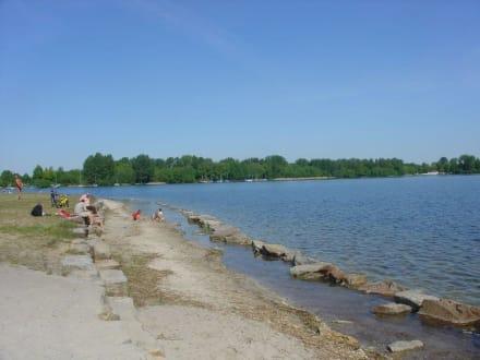 Strand in Niemtsch - Senftenberger See