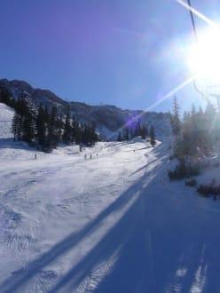 Winterpanorama - Skigebiet Hochkar