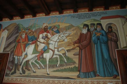Bild im Innenhof - Kloster Kykkos / Kykkou