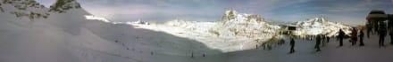 Panorama - Skigebiet Warth Schröcken