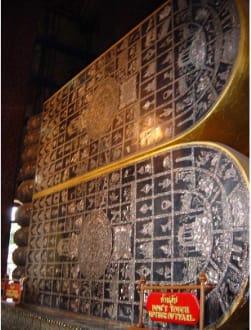 Wat Pho-Tempel Liegender Buddha-Füße - Wat Pho