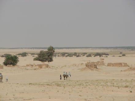 Landschaftsaufnahme - Saharaausflug