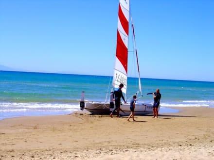 Sport & Fun on the beach - Strand Kyllini