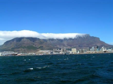 Kapstadt mit dem Tafelberg im Hintergrund - Tafelberg