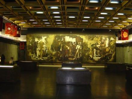 Museumshalle - Denkmal Stadtbelagerung von Leningrad