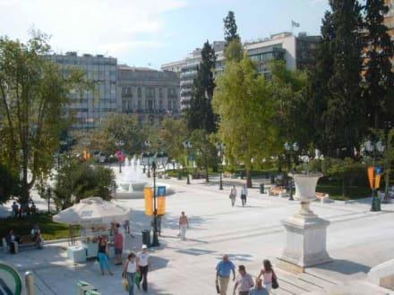 Der Sýndagma-Platz - Syntagmaplatz