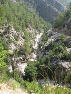 In der Schlucht von Göynük - Schlucht von Göynük / Göynük Canyon Park