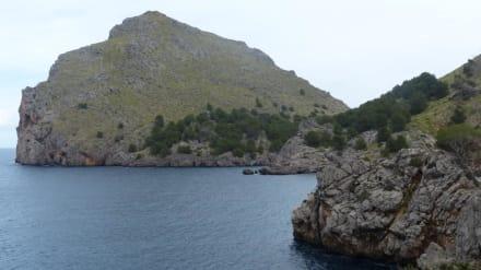 Angekommen - Bucht Sa Calobra / Torrent de Pareis