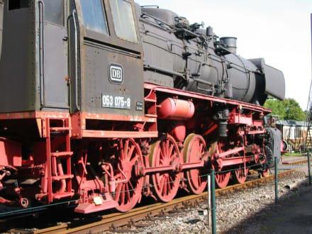 Dampflok - Eisenbahnmuseum Bochum