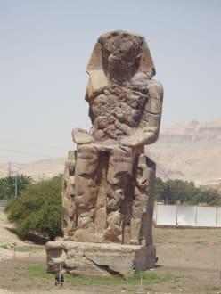 Memnon-kolosse - Kolosse von Memnon